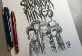 Stranger Things Drawing Will Image Of Stranger Things Daily Sketch Character Stranger Things