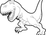 T Rex Cartoon Drawing Dinosaurier Ausmalbilder Tyrannosaurus Rex Nouveau Collection