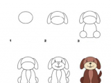 Toddler Drawing Of A Dog Learn How to Draw A Dog with Our Free and Fun Activity Sheets Your