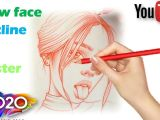 Tongue Drawing Easy How to Draw A Beautiful Girl tongue Out Style Step by Step