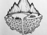 Tumblr Drawing Designs Micron Mountains Doodling Drawings Art Drawings Art