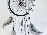 Tumblr Drawing Dreamcatcher 1 2 Dream Catcher 1 2 Mandala for Future Reference Tattoos