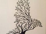 Tumblr Drawing Nature Tree Bird Art by Inspirations Pinterest Bird Tree Drawings