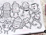 V Easy Drawing 10 Little Drawings for Your Doodles Easy and Kawaii Drawings by
