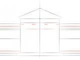White House Drawing Easy How to Draw the White House Step by Step Drawing Tutorials