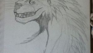 Wolf Drawing Background A Drawing Of A Wolf Dragon I Did My Anime Furries Other Drawings I