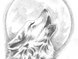 Wolf Drawing Made Easy Howling Wolf Tattoo Change the Moon to Our Dream Catcher Behind the