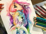 Wolf Drawing Markers Pin by Veronika A Apova On Drawing Pinterest Wolf Drawings and