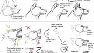 Wolf Drawing Tutorial Deviantart How I Draw Wolf Heads by theshadowedgrim On Deviantart Animal