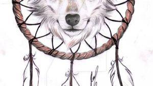 Wolf Drawing with A Dream Catcher Wolf Dreamcatcher Ii Tattoo Design by Rozthompsonart Deviantart Com