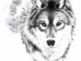 Wolf Drawing with Name Wolf Tattoo Tumblr Love This Wolf and Moon the Eyes though I
