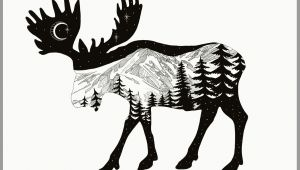 Wolf Mountain Drawing Moose Mountain Drawing Using Adobe Sketch the Mountain Range is