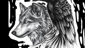 Wolf Raven Drawing Ravenwolf Google Search Adelle Leclair Tattoos Raven Tattoo