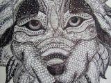 Wolf Zentangle Drawing 170 Best Art Zentangle Animals Images Mandalas Doodle Art Doodles