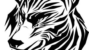 Wolves Drawing Black and White Draw A Tribal Wolf Tribal Wolf Step by Step Drawing Sheets