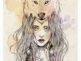 Wolves Drawing Tumblr Resultado De Imagem Para Desenhos Tumblr Garotas Lobo Tattoos