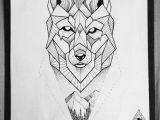 Wolves Drawing Tumblr Znalezione Obrazy Dla Zapytania Geometric Wolf Malunky Pinterest