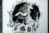 Wolves Ink Drawing Commissioned Tattoo Design 293 Howling Coyote D Art