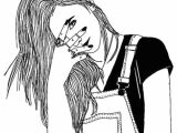 X Girl Drawing A Instagram X Mady X Girl Pinterest Sad Sketches
