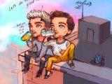 Zayn Cartoon Drawing Ula Alulawings Twitter One Direction Fanarts One Direction