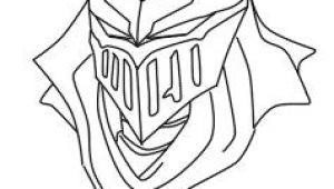 Zed Drawing Easy Lol Headshots Zed Lineart Lol